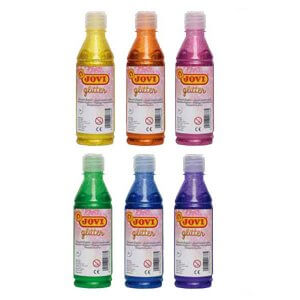 Botella Tempera New Glitter 250ml